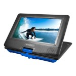 "EPD116 - DVD player - portable - display: 10"" - blue"