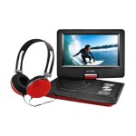 "EPD116 - DVD player - portable - display: 10"" - red"