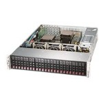 "Supermicro SuperStorage Server 2028R-ACR24H - Server - rack-mountable - 2U - 2-way - RAM 0 MB - SAS - hot-swap 2.5"" - no HDD - AST2400 - GigE, 10 GigE - no OS - monitor: none"