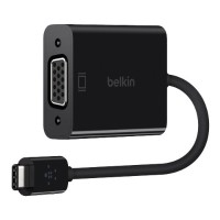 Belkin USB-C to VGA Adapter F2CU037BTBLK