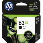 63XL - High Yield - dye-based black - original - ink cartridge - for Deskjet 11XX, 21XX, 36XX; Envy 45XX; Officejet 38XX, 46XX