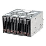 "Supermicro Mobile Rack M28SACB - Storage drive cage with cooling fan - 2.5"" - black"