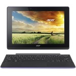 "Acer Aspire Switch 10 E SW3-016-10LF - Tablet - with keyboard dock - Atom x5 Z8300 / 1.44 GHz - Win 10 Home 64-bit - 2 GB RAM - 64 GB eMMC - 10.1"" IPS touchscreen 1280 x 800 - HD Graphics - black, purple NT.G8UAA.002"