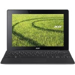 "Acer Aspire Switch 10 E SW3-016-13VA - Tablet - with keyboard dock - Atom x5 Z8300 / 1.44 GHz - Win 10 Home 64-bit - 2 GB RAM - 64 GB eMMC - 10.1"" IPS touchscreen 1280 x 800 - HD Graphics - gray, black NT.G8VAA.003"