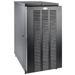 24U Industrial Rack Enclosure Server Cabinet with Doors & Sides 1000lb Capacity