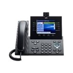 Cisco Unified IP Phone 9951 Slimline - IP video phone - SIP, RTCP, SRTP - multiline - charcoal gray CP-9951-CL-CAM-K9