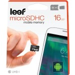 Leef 16GB microSD Card with Adapter LMM10AKW016E1