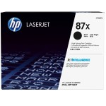 HP Inc. 87X High Yield Black Original LaserJet Toner Cartridge CF287X
