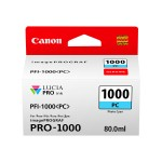 PFI-1000 PC - 80 ml - photo cyan - original - ink tank - for imagePROGRAF PRO-1000
