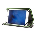 Velocity - Case for tablet - rugged - black with lime