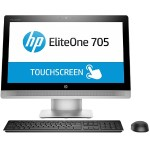 "HP Inc. Smart Buy EliteOne 705 G2 AMD Dual-Core A4 PRO-8350B 3.50GHz All-in-One PC - 4GB RAM, 500GB HDD, 23"" WLED IPS Touch, SuperMulti DVD, Gigabit Ethernet, 802.11a/b/g/n/ac, Webcam P5V02UT#ABA"
