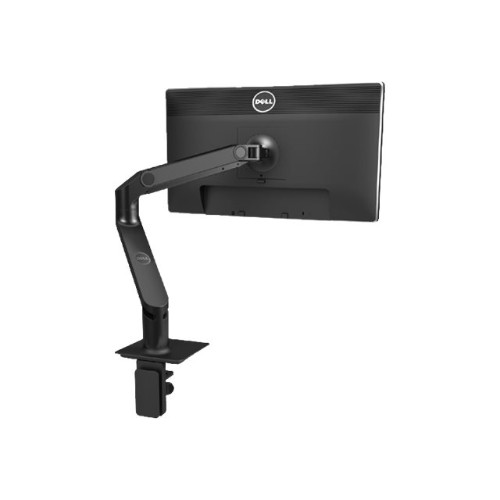 PCM | Dell Monitor, MSA14 Single Monitor Arm Stand - Mounting kit  (articulating arm, screws, VESA adapter plate) for LCD display - black -  screen