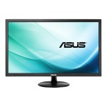 "VP247H-P - LED monitor - 23.6"" - 1920 x 1080 Full HD (1080p) - 250 cd/m² - 1 ms - HDMI, DVI-D, VGA - speakers - black"