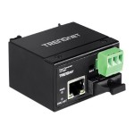 TI-F10SC - Fiber media converter - Fast Ethernet - 10Base-T, 100Base-FX, 100Base-TX - RJ-45 / SC multi-mode - up to 1.2 miles - 1310 nm