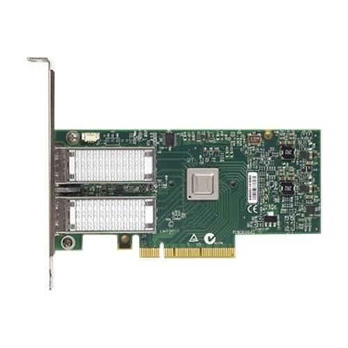 MacMall | Dell Mellanox ConnectX 3 - Network adapter - PCIe 3 0 - 40  Gigabit QSFP x 2 - for EMC PowerEdge R530, R630, R730, R930