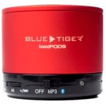 SoundPODS Bluetooth Speaker - Red