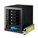 Technology N5810PRO - NAS server - 5 bays - SATA 6Gb/s - RAID 0, 1, 5, 6, 10, JBOD - Gigabit Ethernet - iSCSI