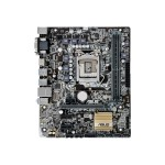 H110M-PLUS - Motherboard - micro ATX - LGA1151 Socket - H110 - USB 3.0, USB 3.1 - Gigabit LAN - onboard graphics (CPU required) - HD Audio (8-channel)