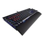 Gaming K70 Mechanical - Keyboard - USB - English - US - anodized black brushed aluminum