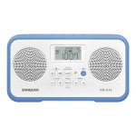 Sangean R-D19 - Portable radio - 1.4 Watt - white, blue PR-D19BU