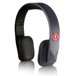 Tuis - Ultra Hi Fi Wireless Headphones - 40mm Drives - Aux Jack - Foldable - 5 Button Control - Gray
