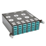 40Gb-10Gb Breakout Cassette x3 8-Fiber OM4 MTP/MPO to x12 Dup LC