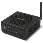 ZBOX CI323 Nano with Windows 10 Home - Intel N3150 Quad-Core 1.60GHz, 2GB DDR3L, 32GB M.2 SATA SSD, 802.11ac, Bluetooth 4.0