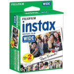 Instax Wide Instant Color Print Film, ISO 800 - 20-Pack