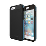 [Performance] Series Level 5 Ultimate Drop Protection for iPhone 6 / iPhone 6s - Black/Cyan