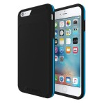 [Performance] Series Level 3 Superior Drop Protection for iPhone 6 Plus  / iPhone 6s Plus - Black/Cyan