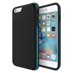 [Performance] Series Level 4 Ultra-Rugged Drop Protection for iPhone 6 Plus / iPhone 6s Plus - Black/Cyan