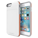 [Performance] Series Level 4 Ultra-Rugged Drop Protection for iPhone 6 Plus / iPhone 6s Plus - White/Orange
