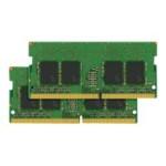 DDR4 - 32 GB: 2 x 16 GB - SO-DIMM 260-pin - 2133 MHz / PC4-17000 - CL15 - 1.2 V - unbuffered - non-ECC