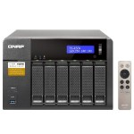 6-Bay Professional-Grade Network Attached Storage, Supports 4K Playback