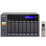 8-Bay Professional-Grade Network Attached Storage, Supports 4K Playback