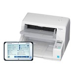 KV-S5076H - Document scanner - Duplex - A4/Letter - up to 100 ppm (mono) / up to 100 ppm (color) - ADF (300 sheets) - up to 35000 scans per day - USB 3.0 - with  Network Scanner Solution KV-SSM100