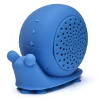 """Beyonce"" Snail Shower Speaker - Blue"