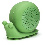 """Elvis"" Snail Shower Speaker - Green"