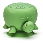 """Tupac"" Turtle Shower Speaker - Green"