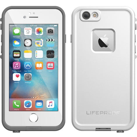 promo code 1aea0 5c3a2 LifeProof fre Waterproof Case iPhone 6s Plus / iPhone 6 Plus - Avalanche  (77-52559)