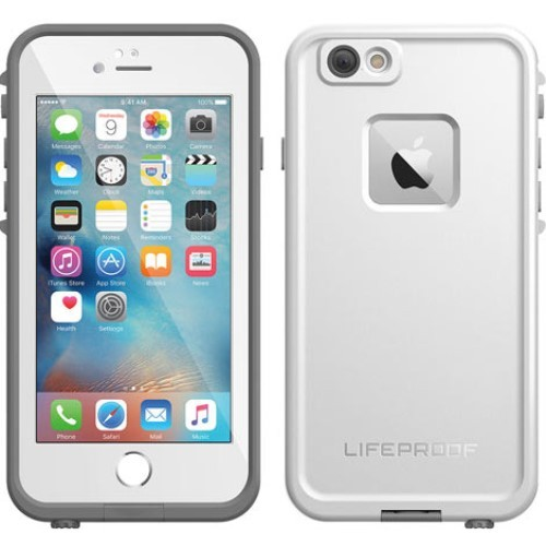 sale retailer 76234 4a1ca MacMall | LifeProof fre Waterproof Case iPhone 6s Plus / iPhone 6 Plus -  Avalanche 77-52559