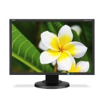 "23"" Eco-Friendly Widescreen Desktop Monitor - Black"
