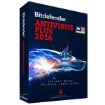 Bitdefender Antivirus Plus 2016 - Box pack ( 1 year ) - 1 PC - DVD - Win - English UB11011001EN