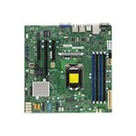 SUPERMICRO X11SSL - Motherboard - micro ATX - LGA1151 Socket - C232 - USB 3.0 - 2 x Gigabit LAN - onboard graphics
