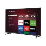 "48FS3750 - 48"" Class ( 47.6"" viewable ) LED TV - 1080p (Full HD) - direct-lit LED - black, high gloss"