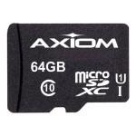 AX - Flash memory card - 64 GB - UHS Class 1 / Class10 - microSDXC UHS-I