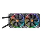 ThermalTake Water 3.0 Riing RGB 240 - Liquid cooling system - ( LGA1156 Socket, Socket AM2, Socket AM2+, LGA1366 Socket, Socket AM3, LGA1155 Socket, Socket AM3+, LGA2011 Socket, Socket FM1, Socket FM2, LGA1150 Socket, LGA2011-3 Socket, LGA1151 Socket, Socket FM3 ) - CL-W107-PL12SW-A