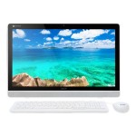 "Acer Chromebase DC221HQ Bbmicz - All-in-one - 1 x Tegra K1 2.1 GHz - RAM 4 GB - SSD - eMMC 16 GB - Kepler - WLAN : 802.11a/b/g/n, Bluetooth 4.0 - Chrome OS - Monitor : LED 21.5"" 1920 x 1080 ( Full HD ) - keyboard: English UM.WD1AA.B02"