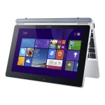 "Aspire Switch 10 Pro SW5-012P-18L0 - Tablet - with keyboard dock - Atom Z3735F / 1.33 GHz - Win 10 Pro 32-bit - 2 GB RAM - 64 GB eMMC - 10.1"" touchscreen 1280 x 800 - HD Graphics - gray, silver"