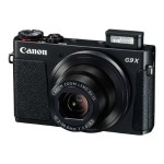 PowerShot G9 X - Digital camera - compact - 20.2 MP - 1080p / 59.94 fps - 3x optical zoom - Wi-Fi, NFC - black
